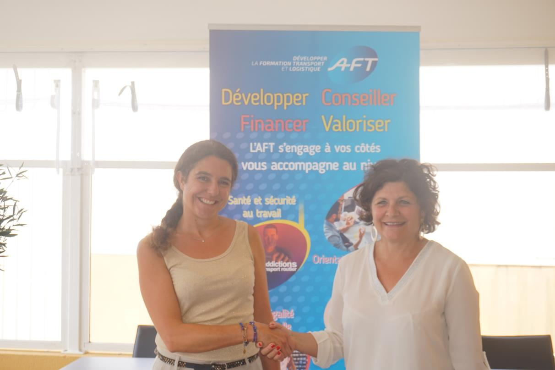 E2C Marseille et l'AFT s'engagent sur l'information et l'orientation des jeunes sur les métiers du transport et de la logistique