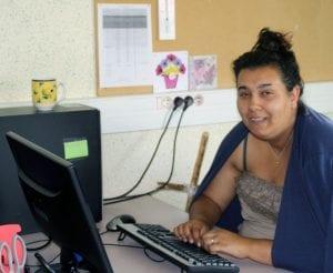 Alexandra, ancienne stagiaire de l'E2C Nièvre