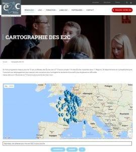 Cartographie Réseau E2C France
