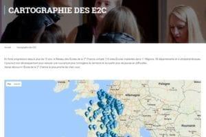 Cartographie Reseau E2C France