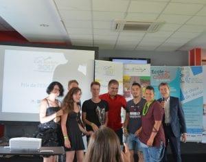 E2ciades 2017 : Prix Lorraine à l'E2C Yonne