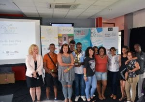 Prix du Fair-Play par EDF à l'E2C Réunion