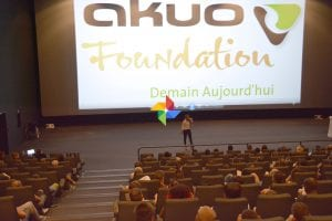 Soirée débat avec la Fondation Akuo avec les stagiaires des E2C sur le développement durable