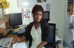 Audrey, stagiaire à l'E2C Estuaire de la Loire