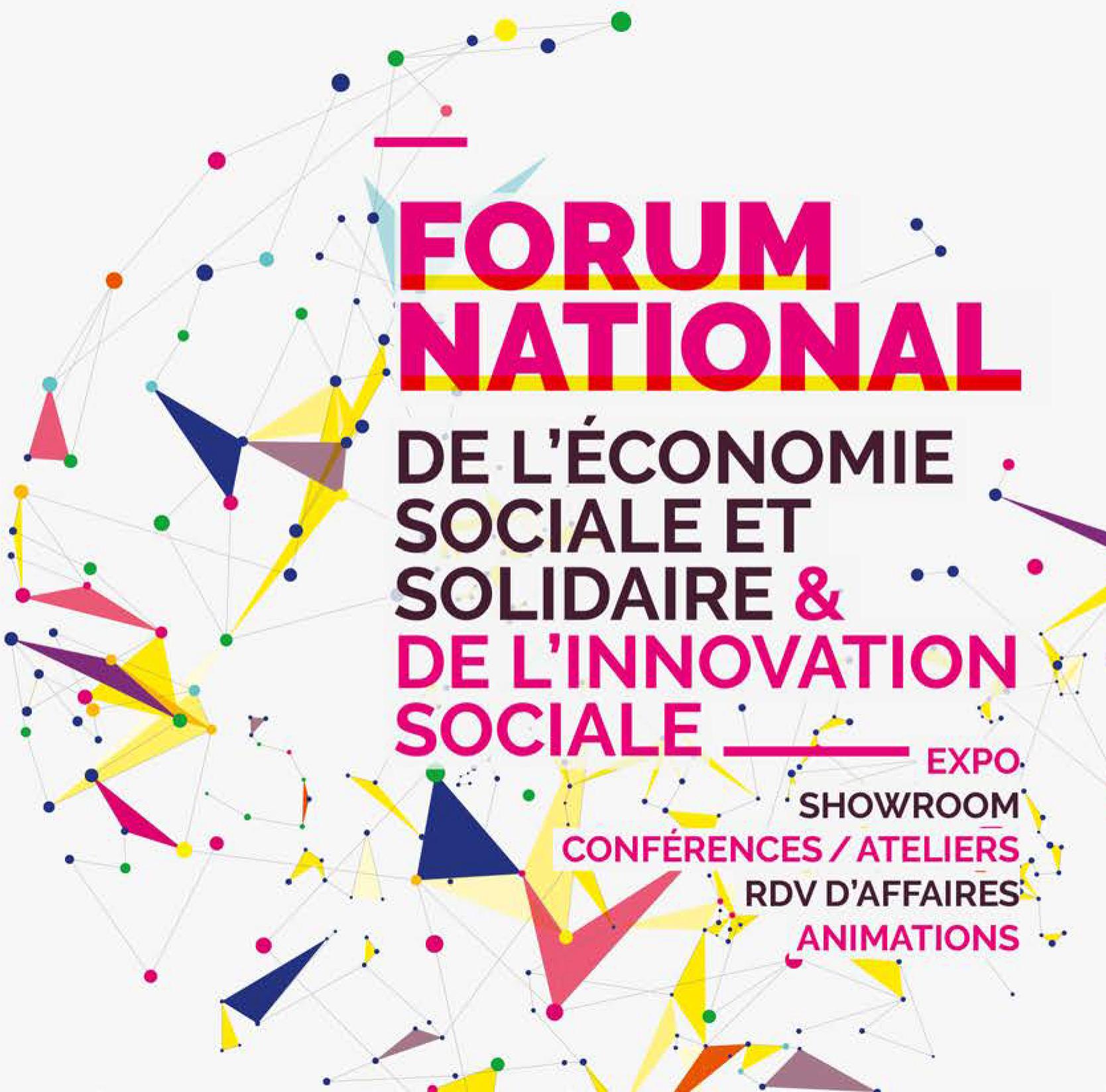 Forum National de l'Economie Sociale et Solidaire et de l'Innovation Sociale