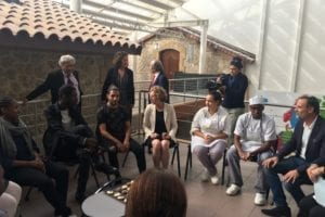 Visite Muriel Penicaud à l'E2C Marseille