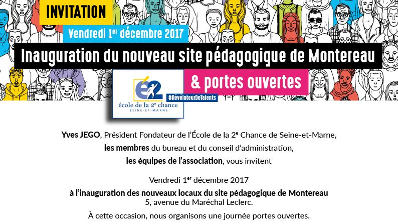 Inauguration E2C 77