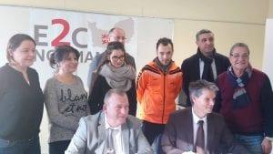 Partenariat Carrefour et E2C Normandie