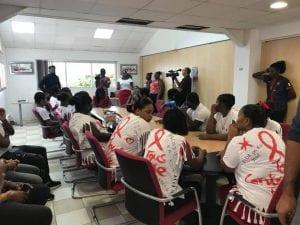 Journée de lutte contre le SIDA à l'ER2C Guadeloupe