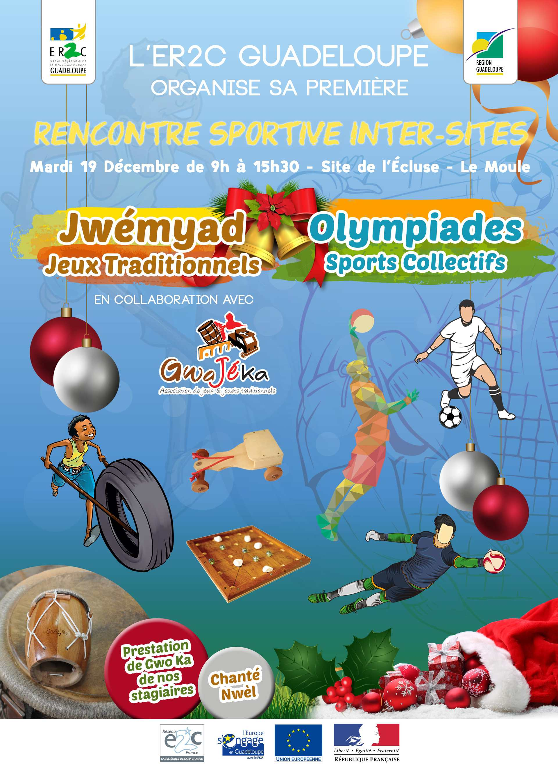 Rencontres inter-sites E2C Guadeloupe