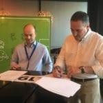 Signature convention Reseau E2C et E2O Espagna