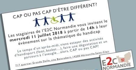 E2C Normandie – événement handicap