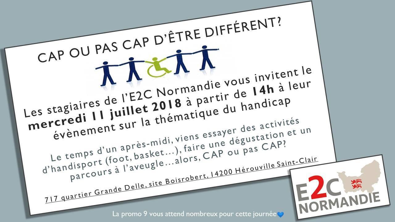 E2C Normandie - événement handicap