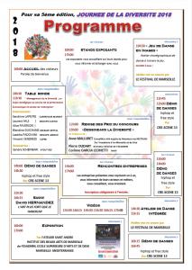 Programme journée de la diversité 2018 à l'E2C Marseille