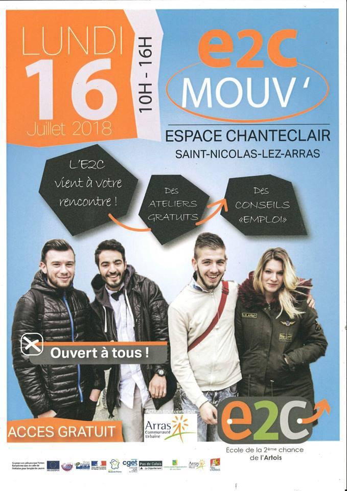 Forum emploi de l'E2C Artois