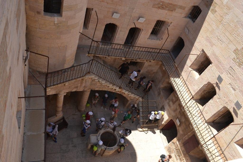 Visite du château d'if (2)