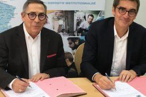 Signature de l'accord-cadre entre Pôle emploi et Réseau E2C France