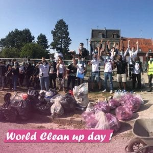 E2C Grand Lille - World Clean up Day