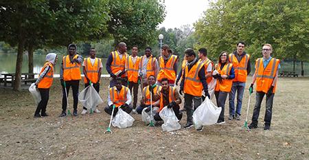 World clean up Day – E2C Val de Loire