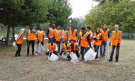 World clean up Day - E2C Val de Loire