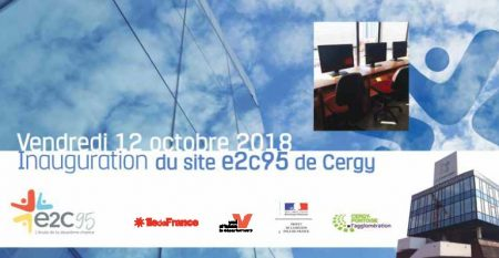 Inauguration E2C 95, site de Cergy