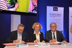 Signature de la convention de partenariat entre Réseau E2C et Etat