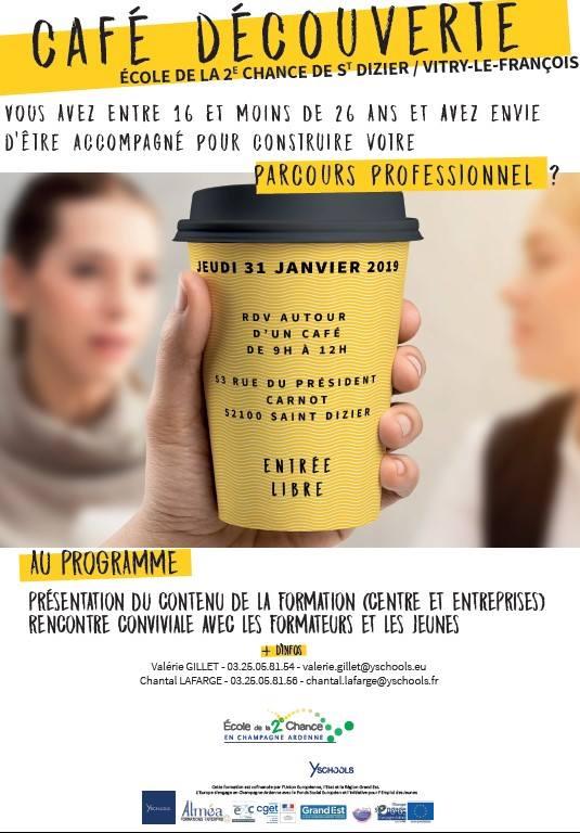 Café découverte E2C Champagne Ardenne