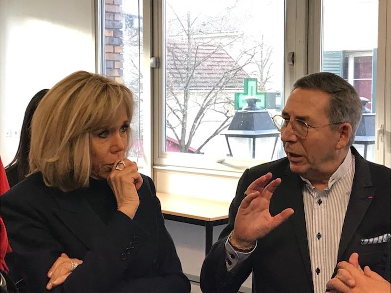 Echanges entre Brigitte Macron et Alexandre Schajer (2)