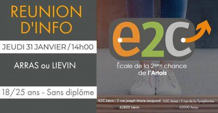 Réunion d'information E2C Artois