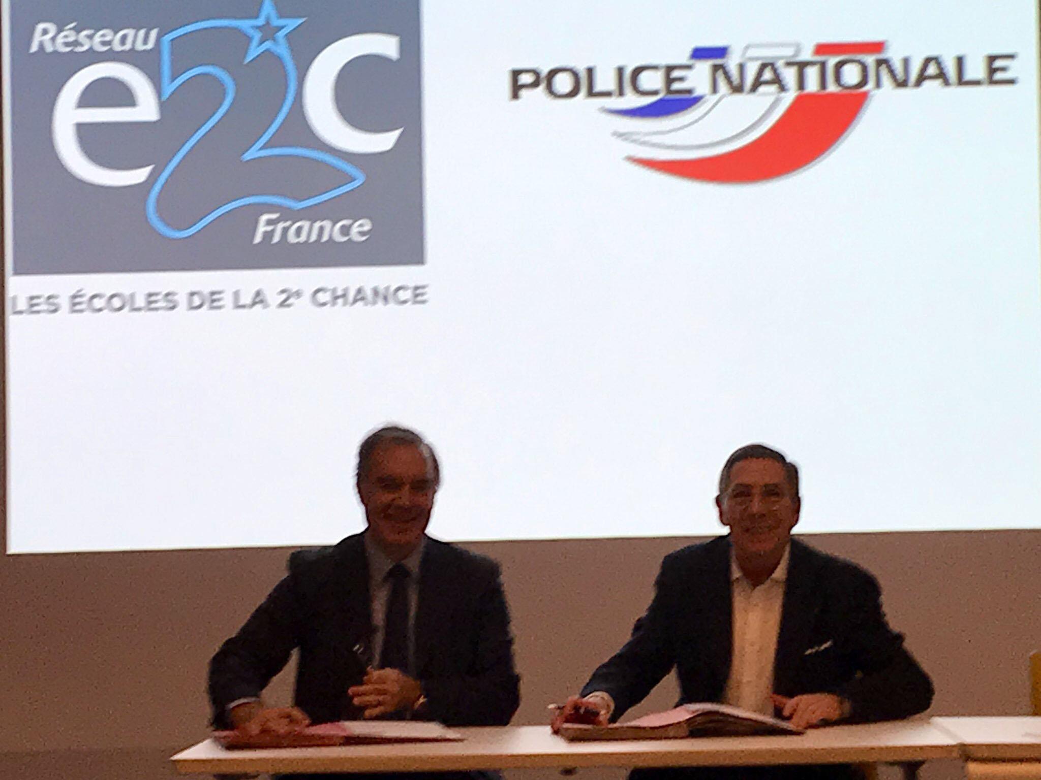 Signature Partenariat Police nationale
