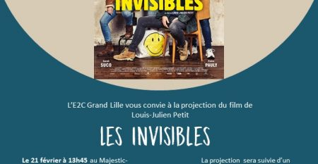 Invisibles_invitation E2C Grand Lille