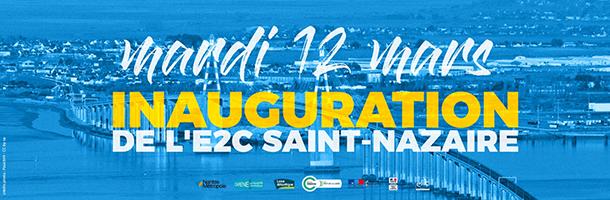 Inauguration site de Saint Nazaire de l'E2Cel