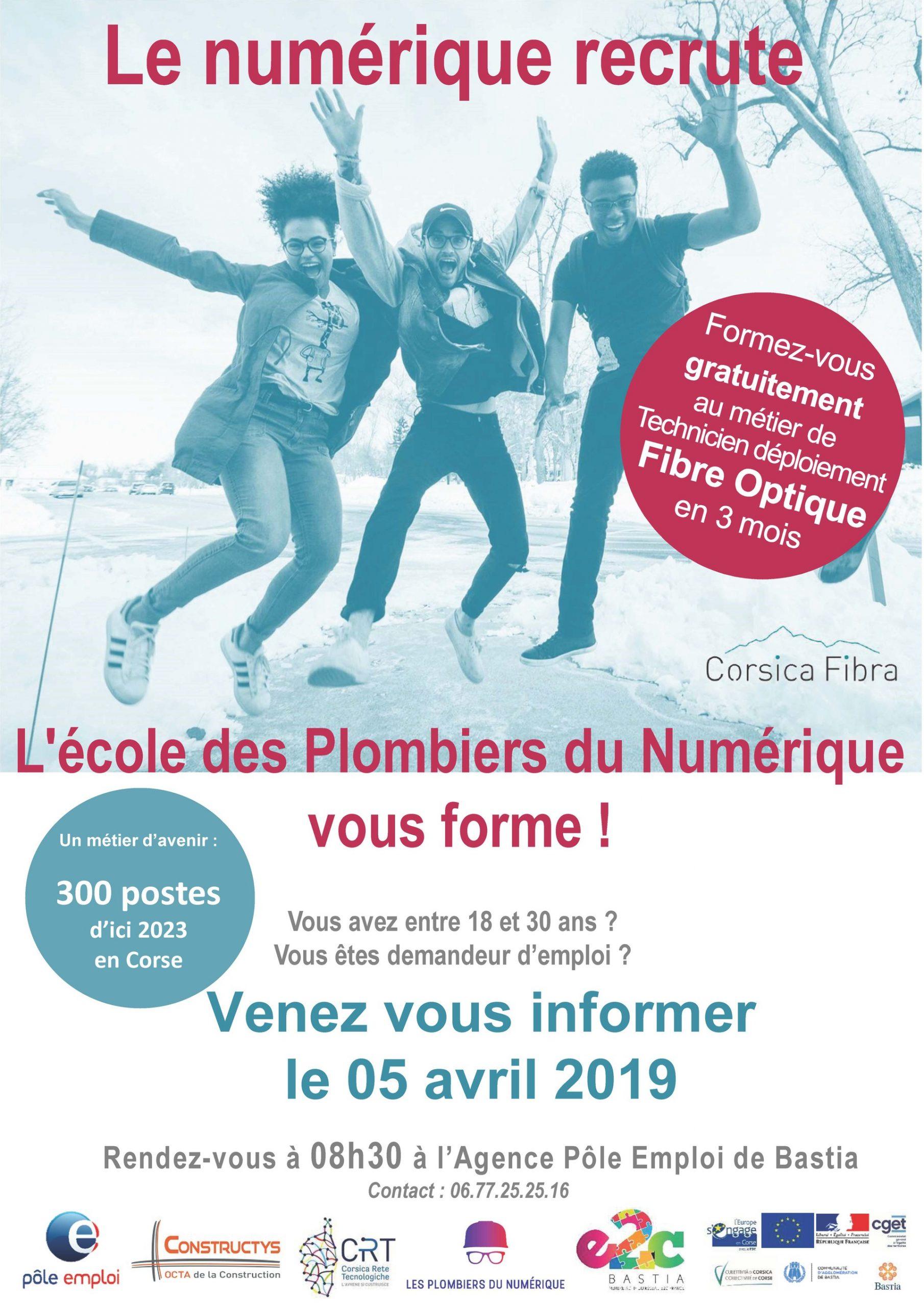 Le numérique recrute avec l'E2C Bastia
