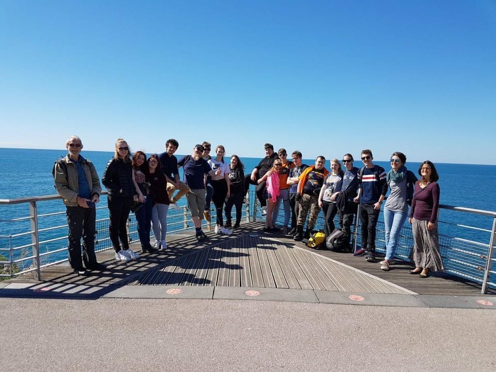 Voyage à Sète pour les stagiaires de Nîmes