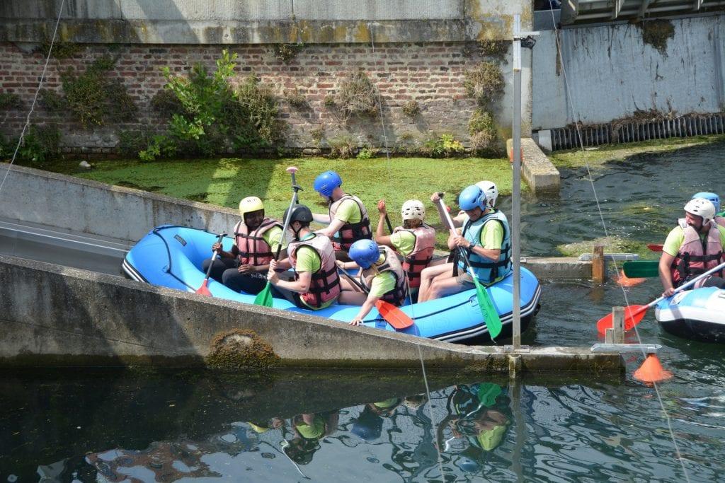 Rafting à Arras, E2Ciades 2019