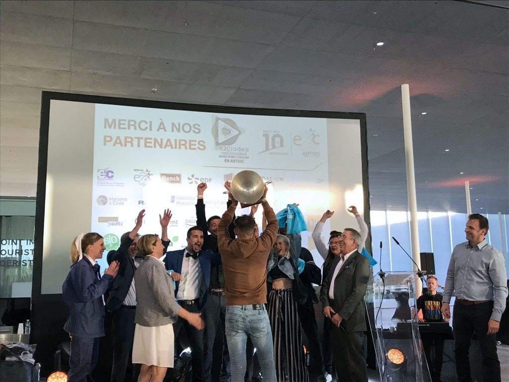 E2C Artois - gagnante
