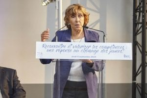 Édith CRESSON , Présidente de la Fondation Edith CRESSON pour les E2C