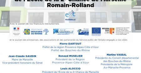 Inauguration site de Marseille