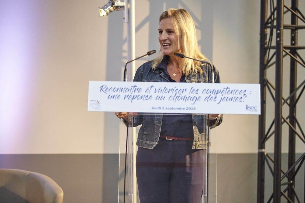 Valérie DEBORD, Vice-présidente de la région Grand Est, délégation à la thématique de l'emploi