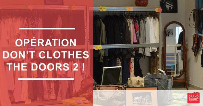 E2C Savoie - collecte de vêtements