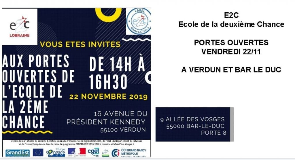JPO E2C Lorraine Bar-le-Duc