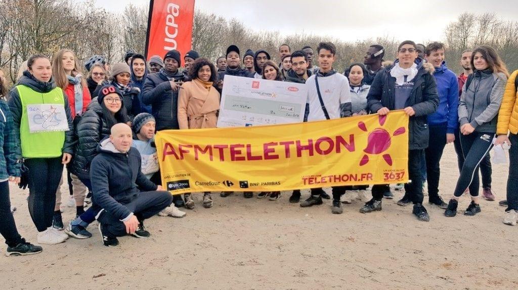 5 E2C franciliennes engagées pour le Téléthon 2019