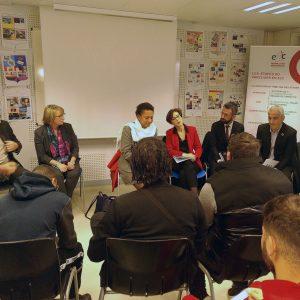 Venue Christelle DUBOS à l'E2C Rhône Lyon Métropole