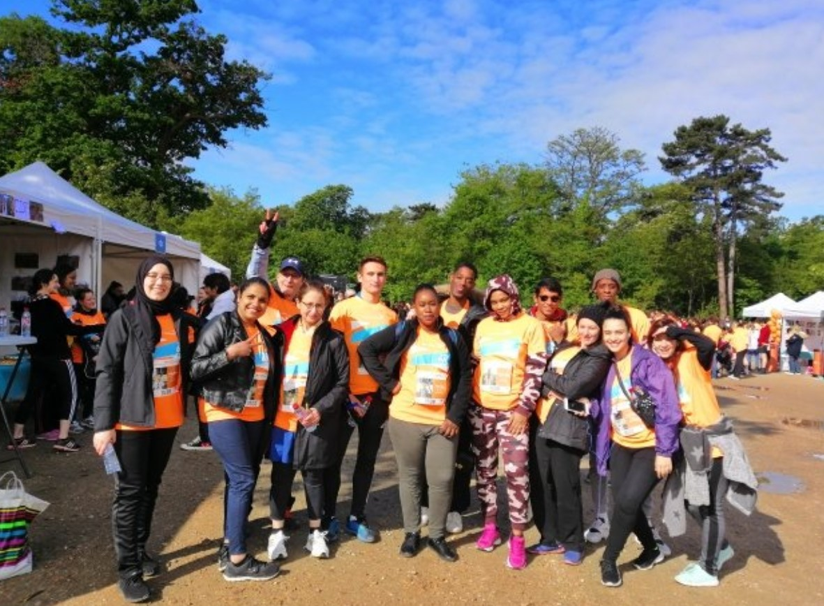 E2C et course Global 6K for Water