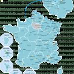 Carte de France_E2C 2019 avec projets en cours