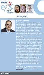 Newsletter du Réseau E2C France - Juillet 2020