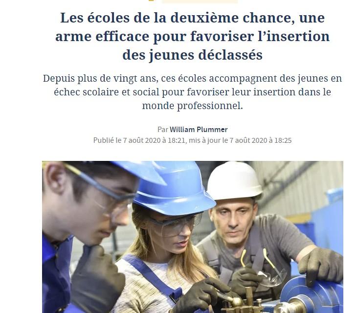 Article le Figaro sur les E2C
